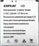 Explay (HD) 2100mAh Li-polymer, оригинал