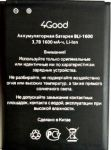 4Good S450M (BLI-1600) 1600mAh Li-ion, оригинал