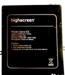 Highscreen (Alpha ICE) 2000mAh Li-polymer, оригинал