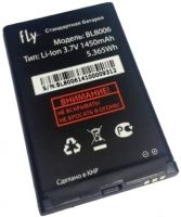 аккумулятор Fly DS133 (BL8006) 1450mAh Li-ion оригинал, акб fly bl8006
