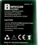 Impression (1.45) 1600mAh Li-ion, оригинал