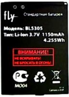 акб fly bl5305, аккумулятор Fly E155 (BL5305) 1150mAh Li-ion оригинал