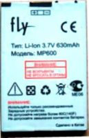 Fly MP600 630 mAh Li-ion, акб Fly MP600, батарея Fly MP600, аккумулятор Fly MP600