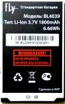 Fly DS129 (BL4039) 1800mAh Li-ion, оригинал