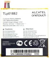 battery alcatel one touch fierce 7025d, аккумулятор alcatel one touch tlp018b2