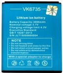 VKworld (VK6735) 3000mAh Li-ion, оригинал